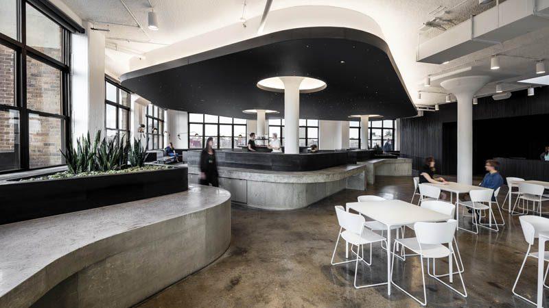 Squarespace HQ | Bar & Eatery - Photo Credit | Brad Feinknopf