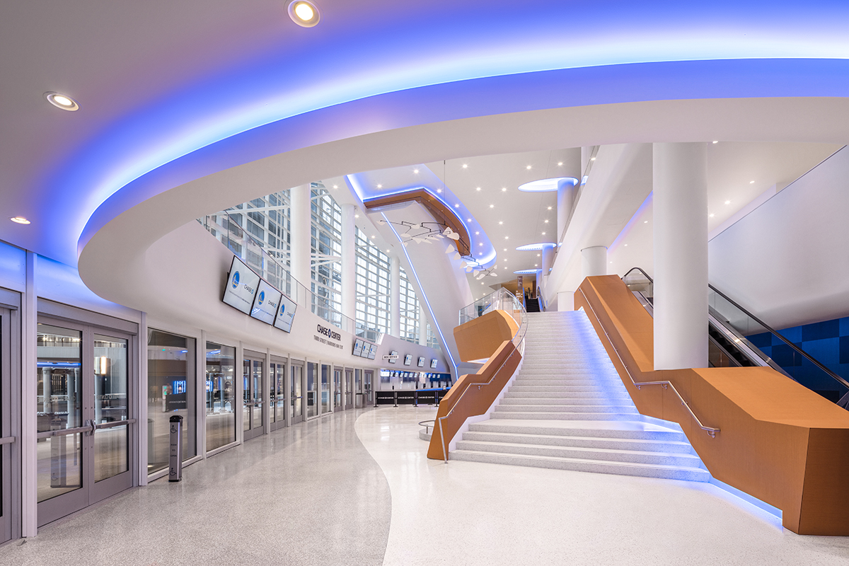 Chase Center West Entrance Lobby View 1 - LR